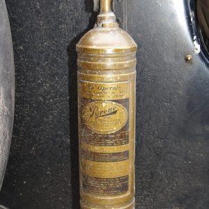 Pyrene Carbon tetrachloride extinguisher